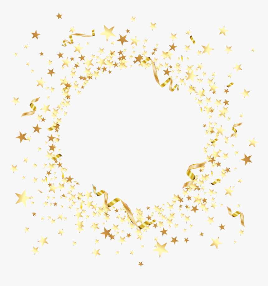 Stars Png - Decorative Gold Stars Png, Transparent Png, Free Download