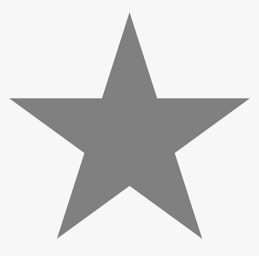 Silver Star - Png Star, Transparent Png, Free Download
