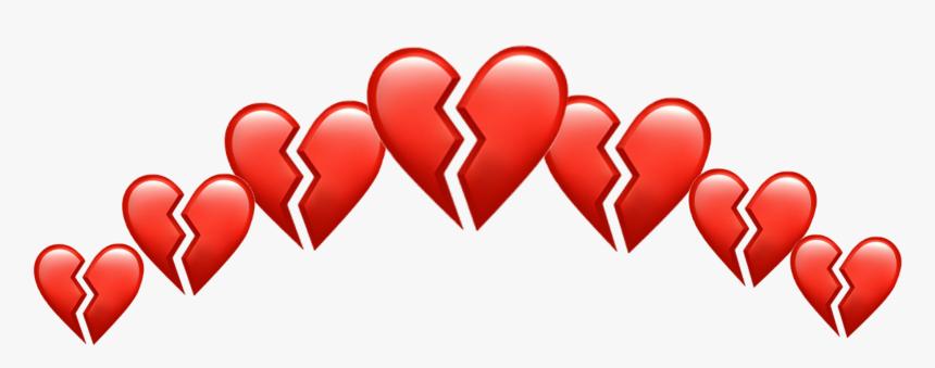 Transparent Broken Heart Clipart - Transparent Broken Heart Emoji, HD Png Download, Free Download
