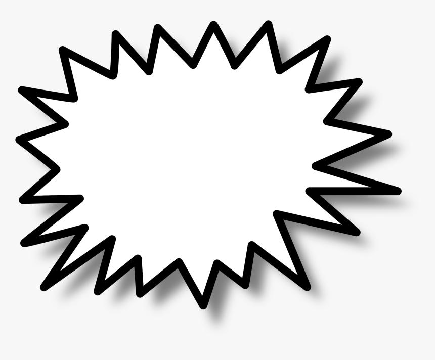 Callout Star Clip Arts - Star Burst Clip Art, HD Png Download, Free Download