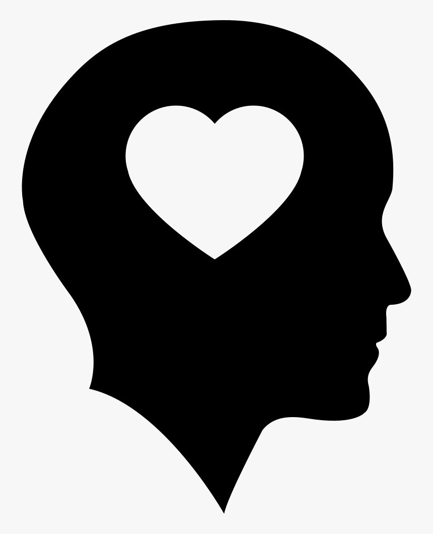 Bald Head With Heart - People With Heart Icon, HD Png Download, Free Download