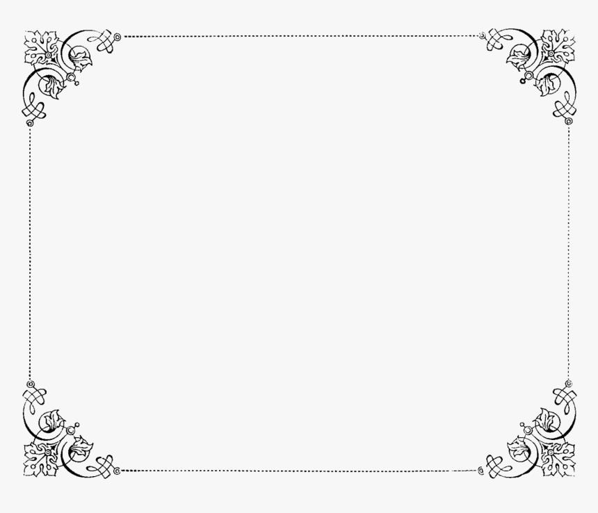 Elegant Border Png - Transparent Background Fancy Borders, Png Download, Free Download