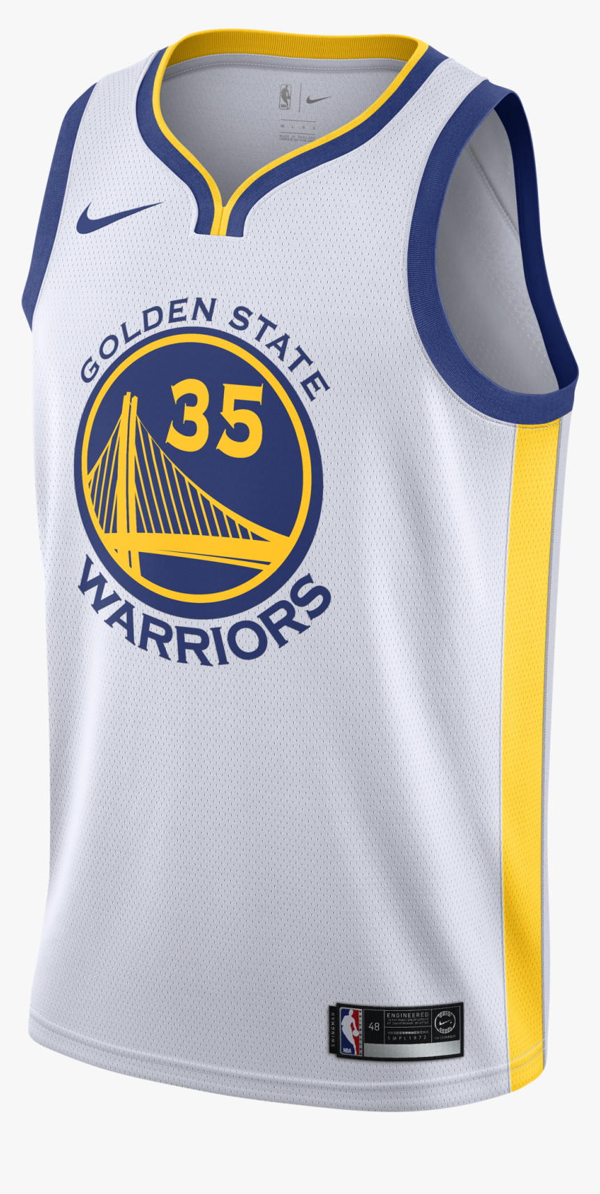 Kevin Durant White Jersey, HD Png Download, Free Download