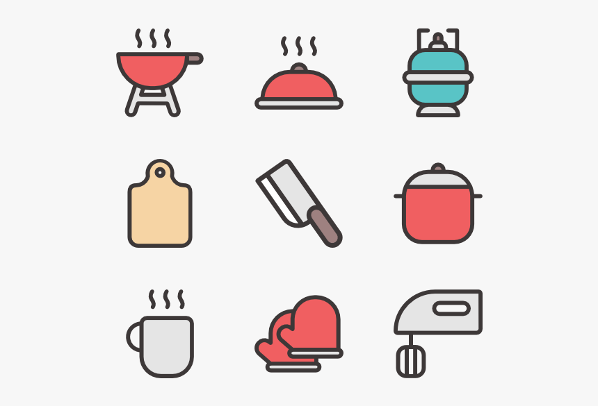 Kitchen - Kitchen Icons, HD Png Download, Free Download