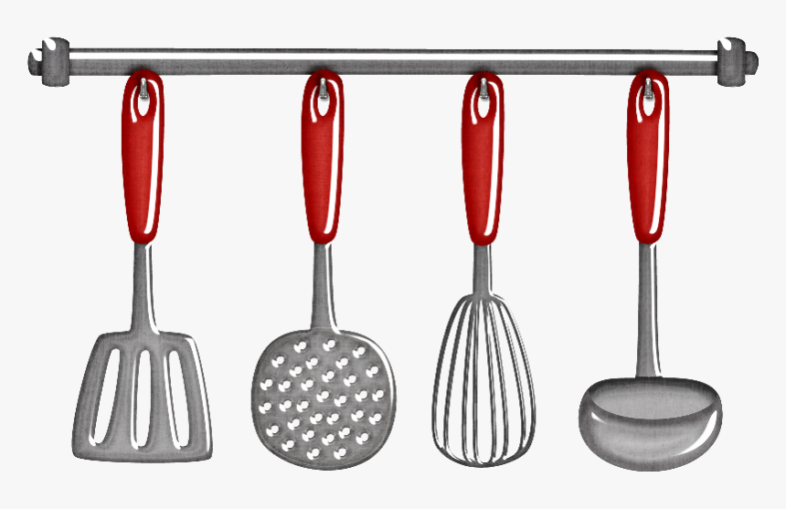 Transparent Spatula Clipart Kitchen Utensils Clip Art Hd Png Download Kindpng