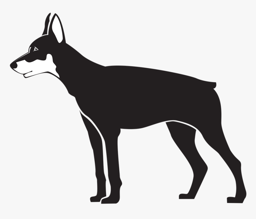 Transparent Dog Head Silhouette Png - Dog, Png Download, Free Download