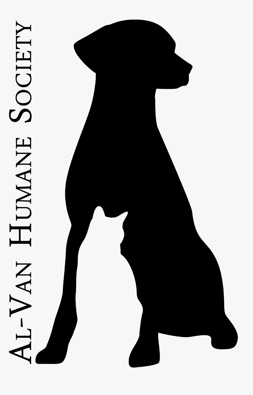 Dog And Cat Outline Tattoo - Dog Licks, HD Png Download, Free Download