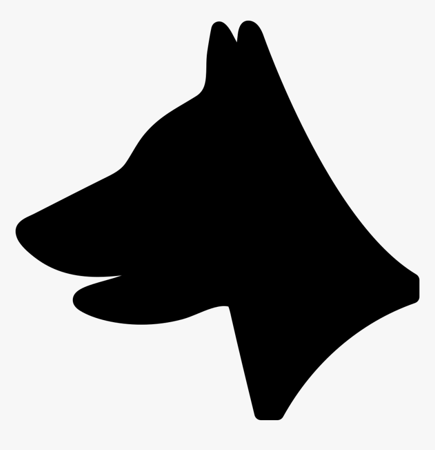 Dog Head - Dog Head Vector Png, Transparent Png, Free Download
