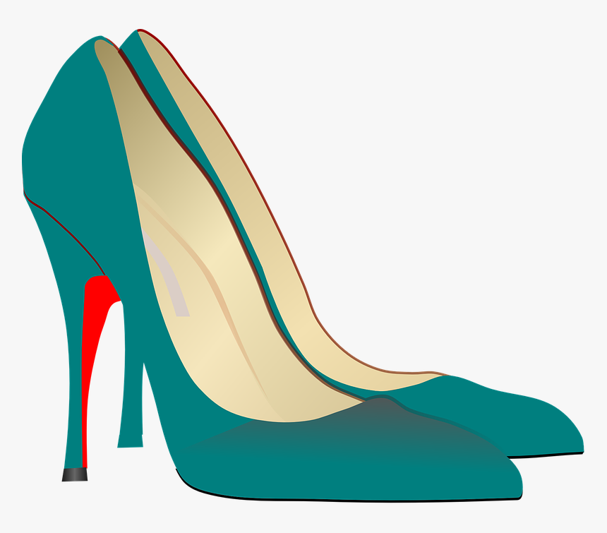 High-heels Stilettos Show Pump Elegant Fashin - Ladies Fashion Shoe Shoes Clipart, HD Png Download, Free Download