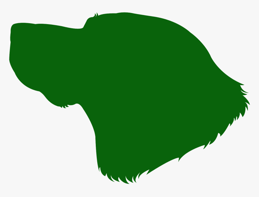 Dog Head Silhouette Blue, HD Png Download, Free Download