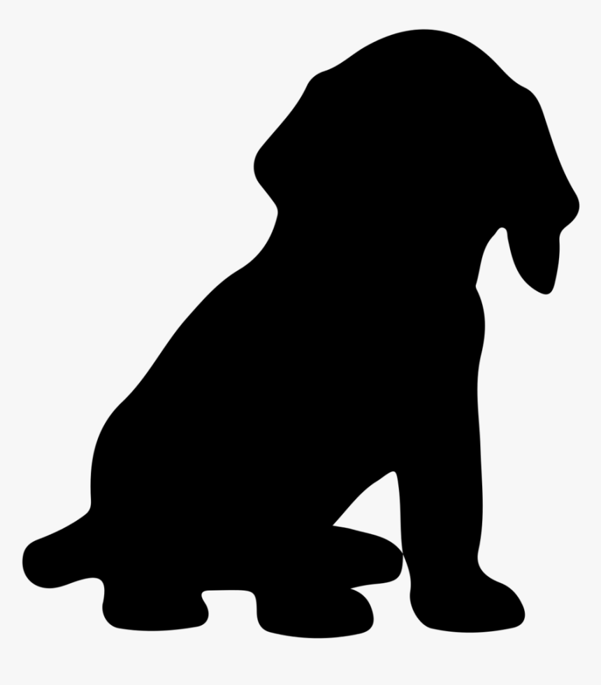 List Of Synonyms And Antonyms Of The Word - Sitting Dog Silhouette Png, Transparent Png, Free Download