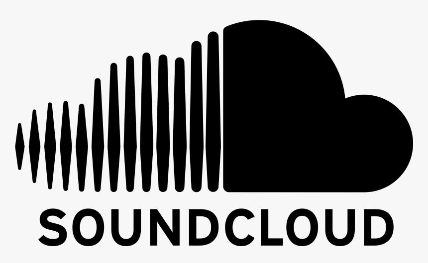 Sound Cloud Png - Black Soundcloud Logo Png, Transparent Png, Free Download