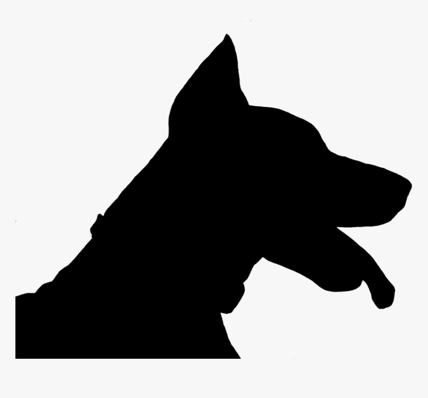 Dog, Doberman, Silhouette, Black - Anjing No Background, HD Png Download, Free Download
