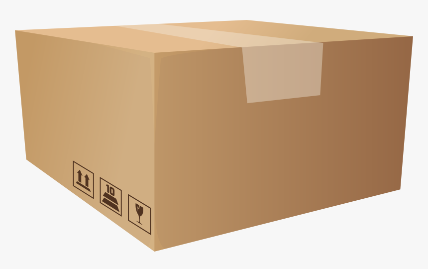 Packaging Box Png Clip Art - Boxes Clipart Png, Transparent Png, Free Download
