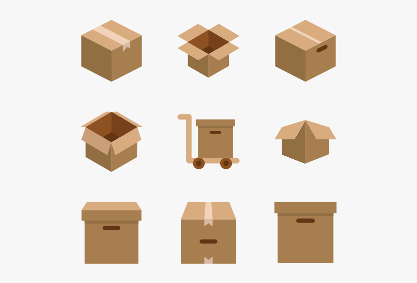 Packaging Box Transparent Image - Packaging Box Png, Png Download, Free Download