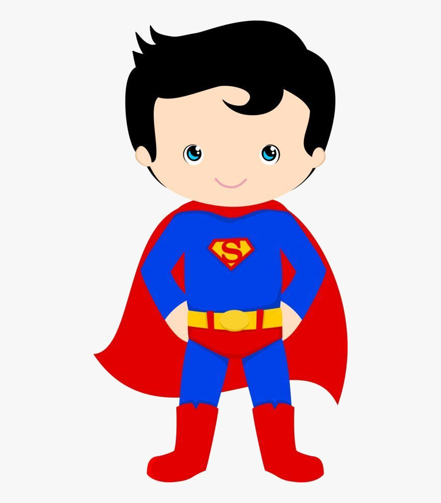 Superhero Clipart Clip Arts For Free On Transparent - Super Homem Cute Png, Png Download, Free Download
