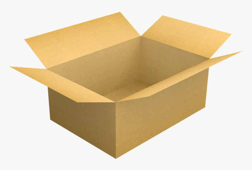Box, Cardboard, Cardboard Box, Package, Pack, Shipping - Png Box, Transparent Png, Free Download