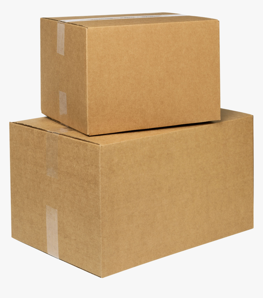 Box,carton,packing Materials,shipping Box,cardboard,package - Transparent Background Boxes Png, Png Download, Free Download