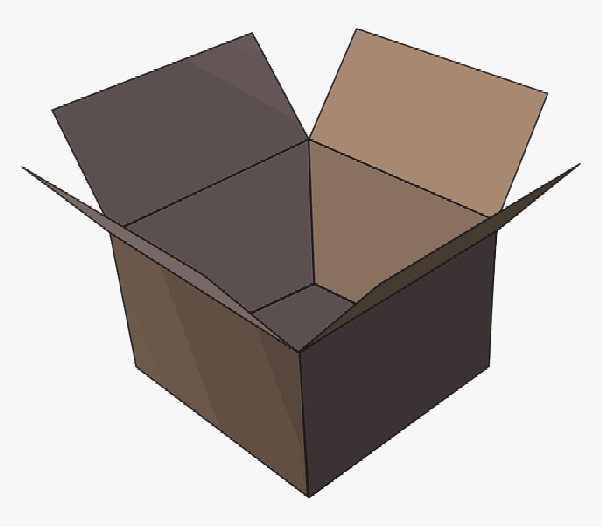 Box, Package Empty Image Icon - Package Clip Art, HD Png Download, Free Download