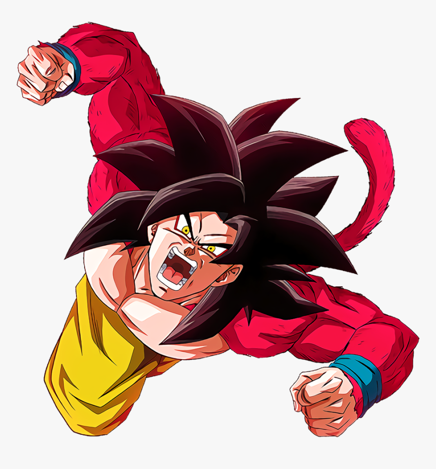 Transparent Super Saiyan 4 Goku Png - Goku Super Saiyan 4 Png, Png Download, Free Download