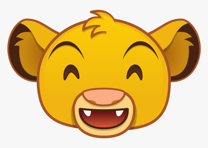 Mickey Tsum Simba Sunglasses Blitz - Disney Emoji Lion King, HD Png Download, Free Download
