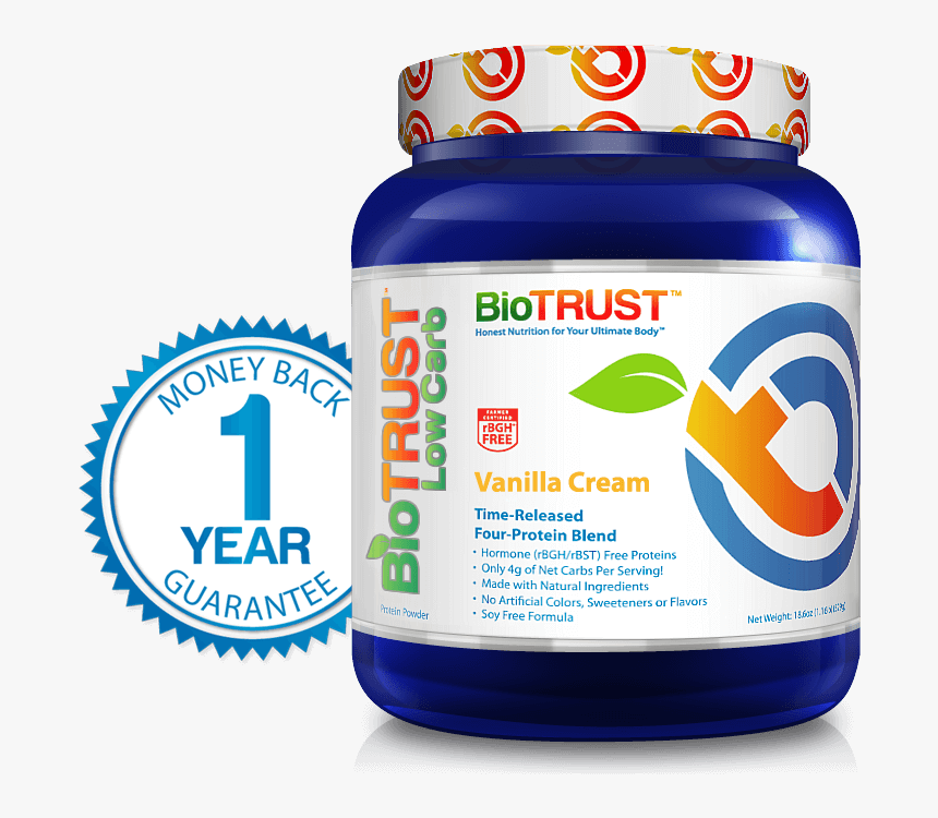 Biotrust Protein Reviews - Biotrust Low Carb, HD Png ...
