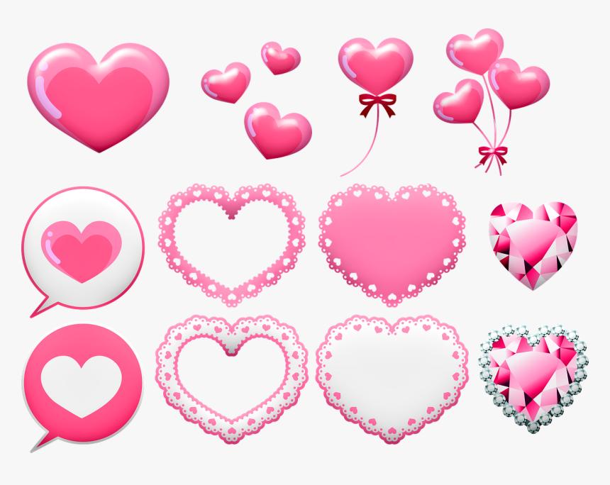 Valentine Clip Art, Valentine Banner, Valentine Balloon - Valentine Banners Images Clip Art, HD Png Download, Free Download