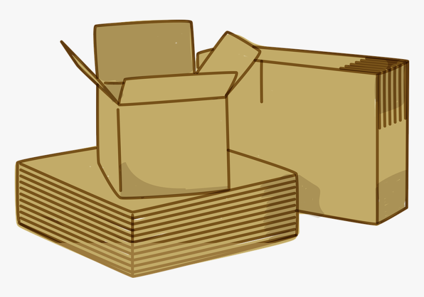 Boxes, Packing, Paperboard, Box, Gift, Package, Pack - Moving & Shipping Boxes, HD Png Download, Free Download
