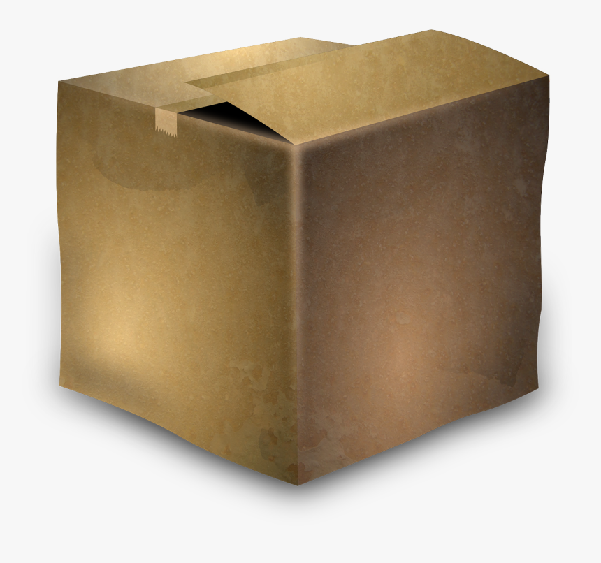 Cardboard Box Box Cardboard Free Picture - Old Cardboard Box Png, Transparent Png, Free Download