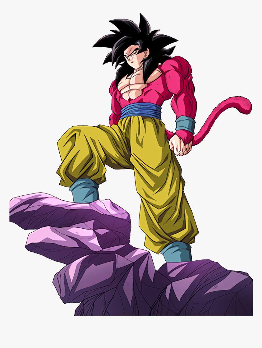 Dragon Ball Goku Ssj4, HD Png Download, Free Download