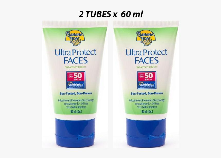 Banana Boat Sunscreen Face, HD Png Download, Free Download