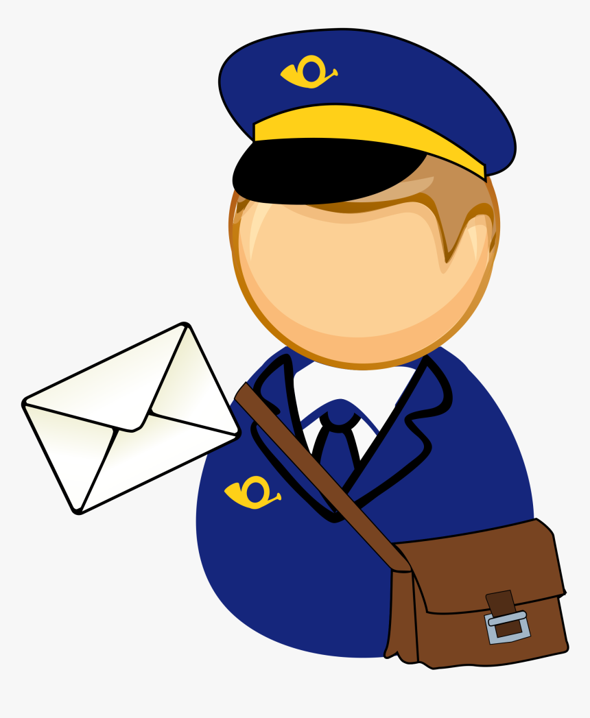 Un Dibujo De Mail Carrier, HD Png Download, Free Download