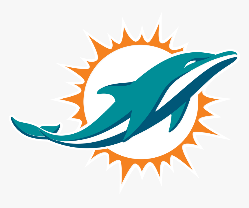 Miami Dolphins Logo Transparent - Miami Dolphins Logo Png, Png Download, Free Download
