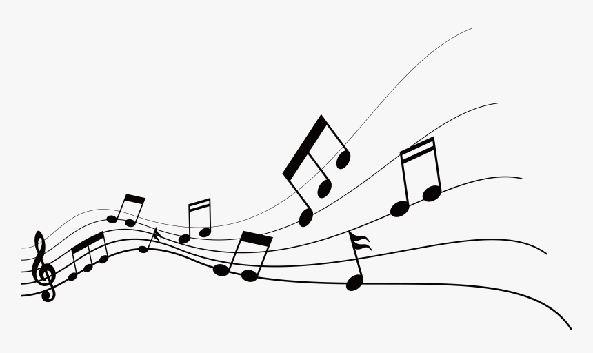 Musical Note Graphic Design - Music Notes Graphic Design, HD Png Download, Free Download