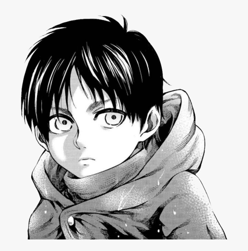 Manga Boy Png Free Image Eren Yeager Lost Girls