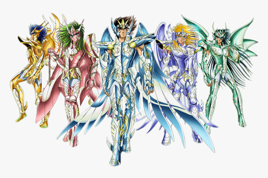 Caballeros Del Zodiaco Hd, HD Png Download, Free Download