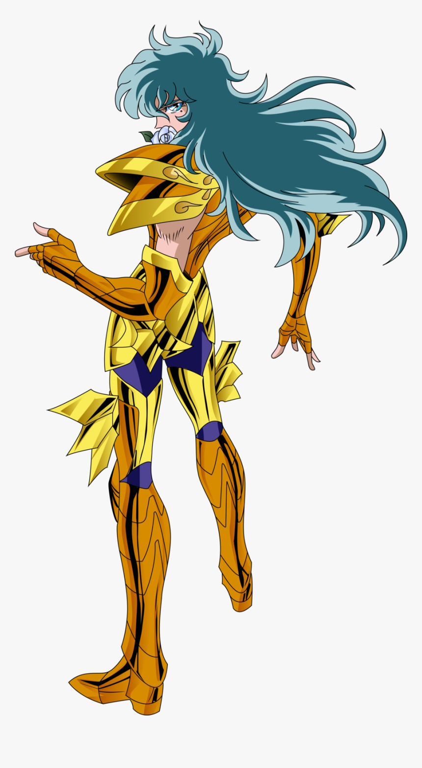 Transparent Caballeros Del Zodiaco Png - Saint Seiya Pisces Aphrodite, Png Download, Free Download