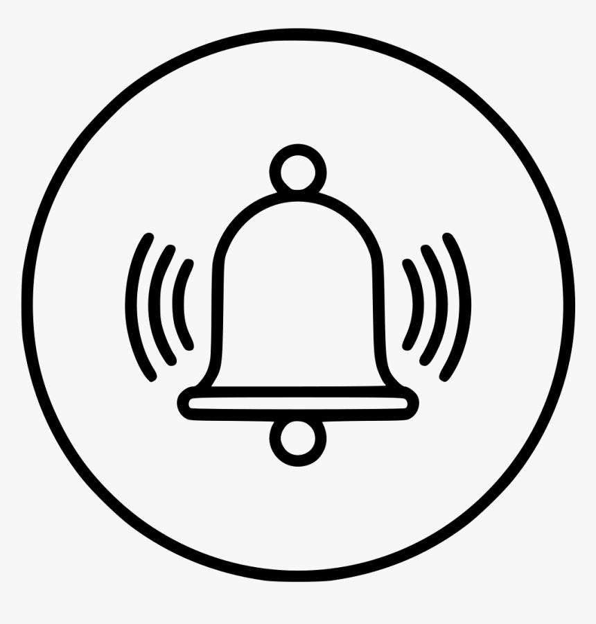 Transparent School Bell Ringing Clipart Alarm Icon Transparent Png Png Download Kindpng