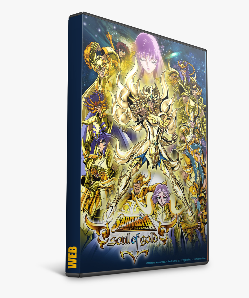 Los Caballeros Del Zodiaco - Soul Of Gold, HD Png Download, Free Download