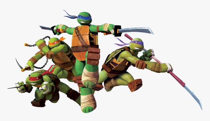 Teenage Mutant Ninja Turtles Transparent Background, HD Png Download, Free Download