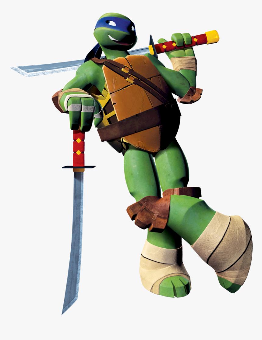 Ninja Turtle 2012 Leonardo Clipart Png Download Leonardo Ninja