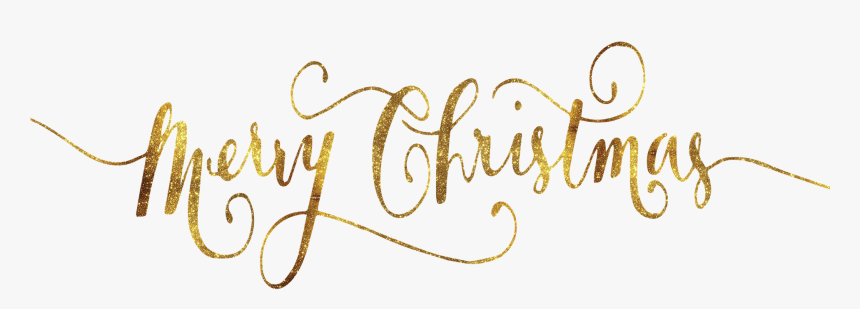 Transparent Background Merry Christmas Png, Png Download, Free Download