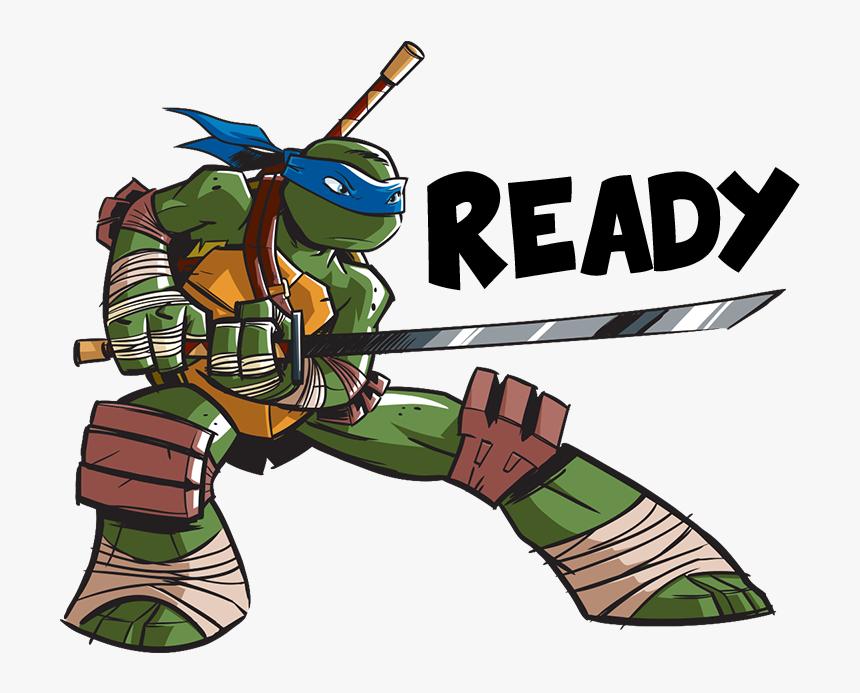 Leonardo Teenage Mutant Ninja Turtles Nickelodeon Sticker - Teenage Mutant Ninja Turtles Leonardo Nickelodeon, HD Png Download, Free Download