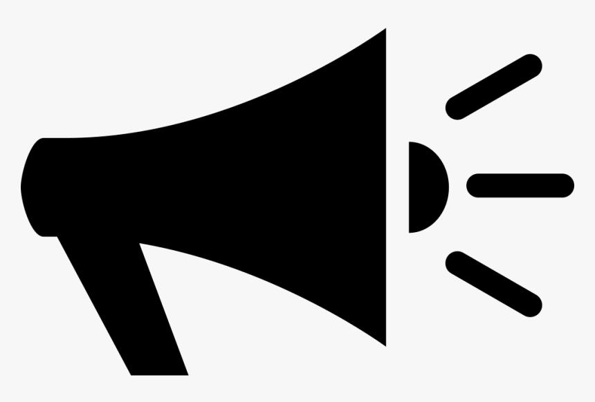 Voice Speaker Black Megaphone Icon Png Transparent Png Kindpng