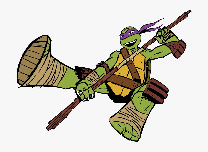 Ninja Turtles Donatello Cartoon, HD Png Download, Free Download