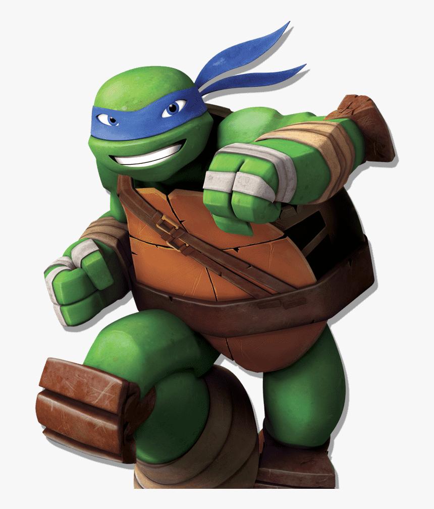 Transparent Tortugas Ninja Png - Ninja Turtles Nickelodeon Leo, Png Download, Free Download