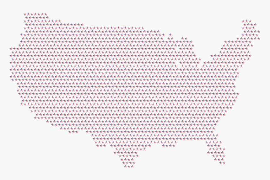 Transparent Usa Flag Map Png - America Map Icon, Png Download, Free Download