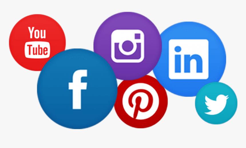 Free Png Download Web Instagram Facebook Twitter Logos - Social Media Bar Png, Transparent Png, Free Download
