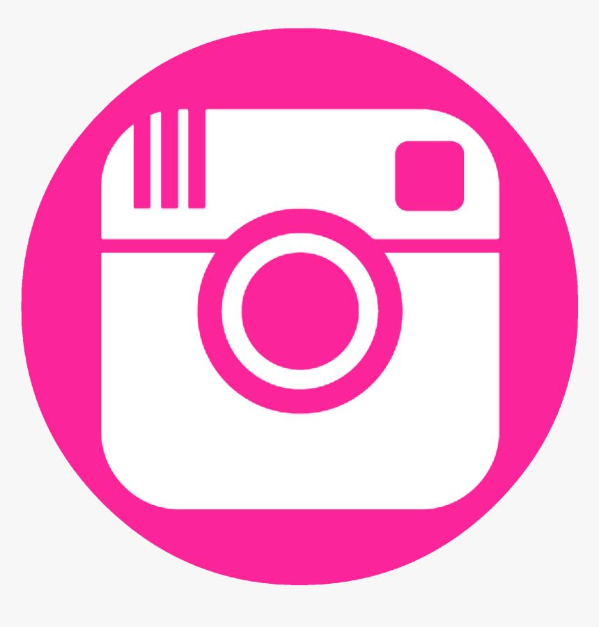 Facebook Twitter Pinterest Instagram - Pink Instagram Logo Png, Transparent Png, Free Download