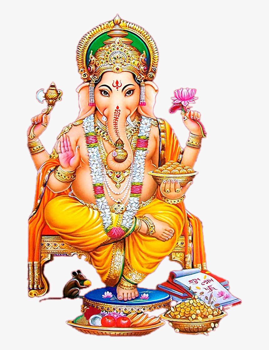 Lord Ganesha Clipart Png - Ganesh Hd Images Png, Transparent Png, Free Download
